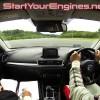 マツダアクセラ試乗インプレッション動画[Sport XD][ダブルレーンチェンジ編]ステアリングの応答性が良い!